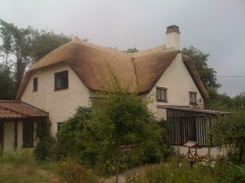 Watert reed re-thatch, Yarcombe